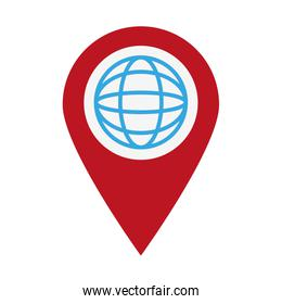 global sphere location pin