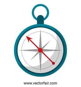 navigation compass symbol isolated