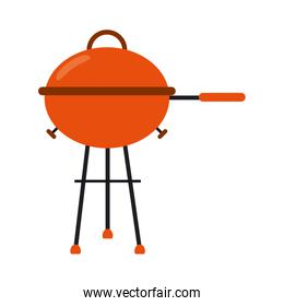 bbq grill symbol isolated