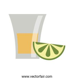 Tequila mexican drink