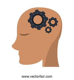 head with gears in mind