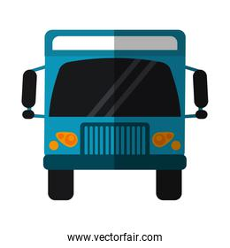 Truck vehicle frontview symbol