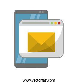 smartphone and email sending from website