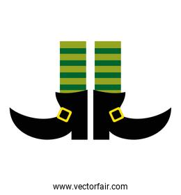 Elf legs boots with socks