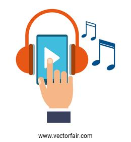 Music and smartphone