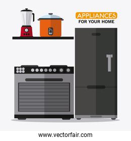 Appliances and supplies for home