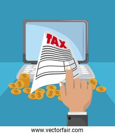 Tax governent pay day