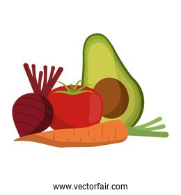healthy and fresh food