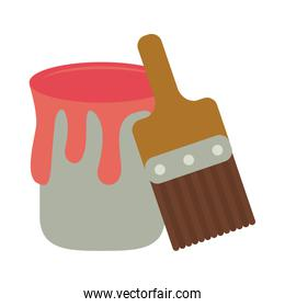 Paint bucket and brush tools