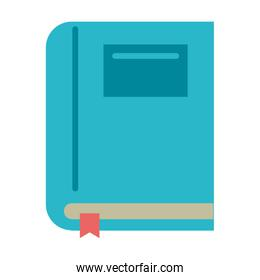 Book education symbol isolated