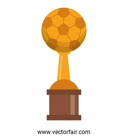 Soccer trophy cup championship