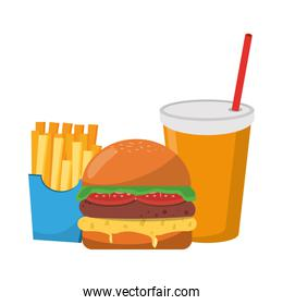 Fast food delicious food