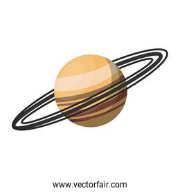 Saturn planet milky way galaxy