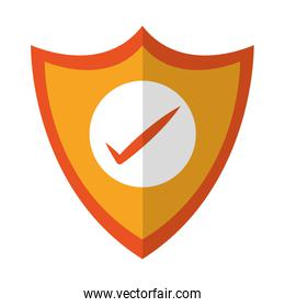 Shield protection online security isolated