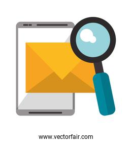 Email search and tablet