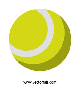 isolated Tennis ball sport icon