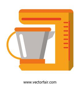 Kitchen mixer electronic device isolated icon