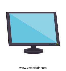 Computer monitor hardware device isolated