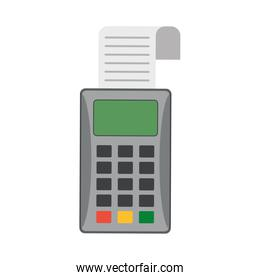 Credit card reader electronic payment device