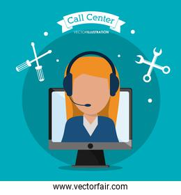 Call center and technical service design