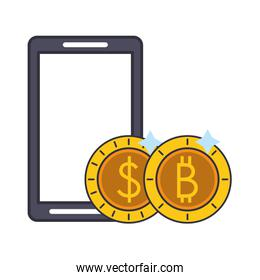 Bitcoin cryptocurrency business investment symbols