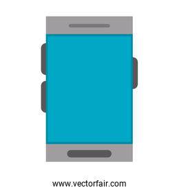 Smartphone mobitle technology isolated symbol