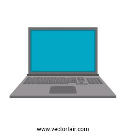 Computer laptop technology isolated symbol