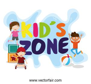 kids zone children entertaiment cartoons