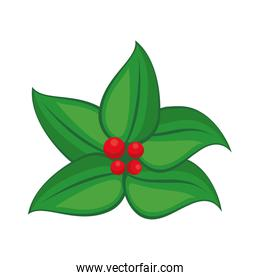 plant leaves icon cartoon isolated