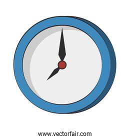 Wall clock round frame time symbol