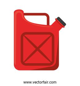 Fuel can isolated symbol cartoon