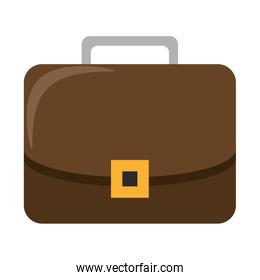 Business briefcase symbol isolated