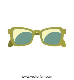 green sunglasses for summer holidays