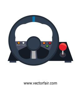 Videogame steering wheel console controller
