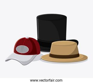 Types of hats cloth accesory