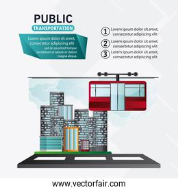 Isolated cable car vehicle design