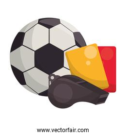 Soccer football sport game concept