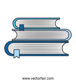education and books isolated icon