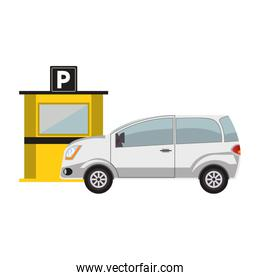 parking toll booth design