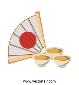 chinese hand fan icon image