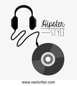 Hipster and fashion style design