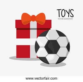 Soccer ball toy and game design