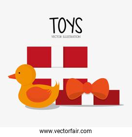 Duck toy and game design