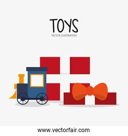 Train toy and game design