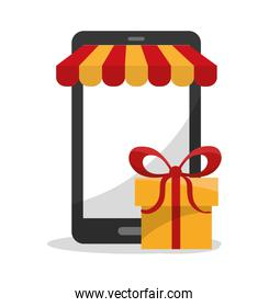 Gift smartphone and shopping design