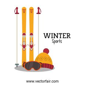 Skis and winter sport design