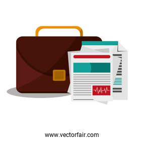 Document suitcase and business design