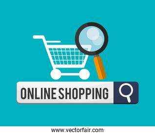 Cart and shopping online design