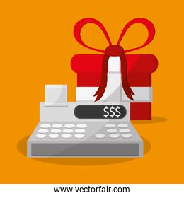 Gift and shopping online design