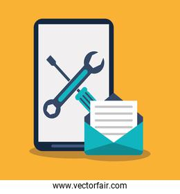 Smartphone tools and envelope design